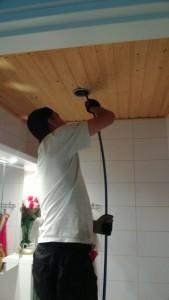 Iv-kanavien puhdistustyö